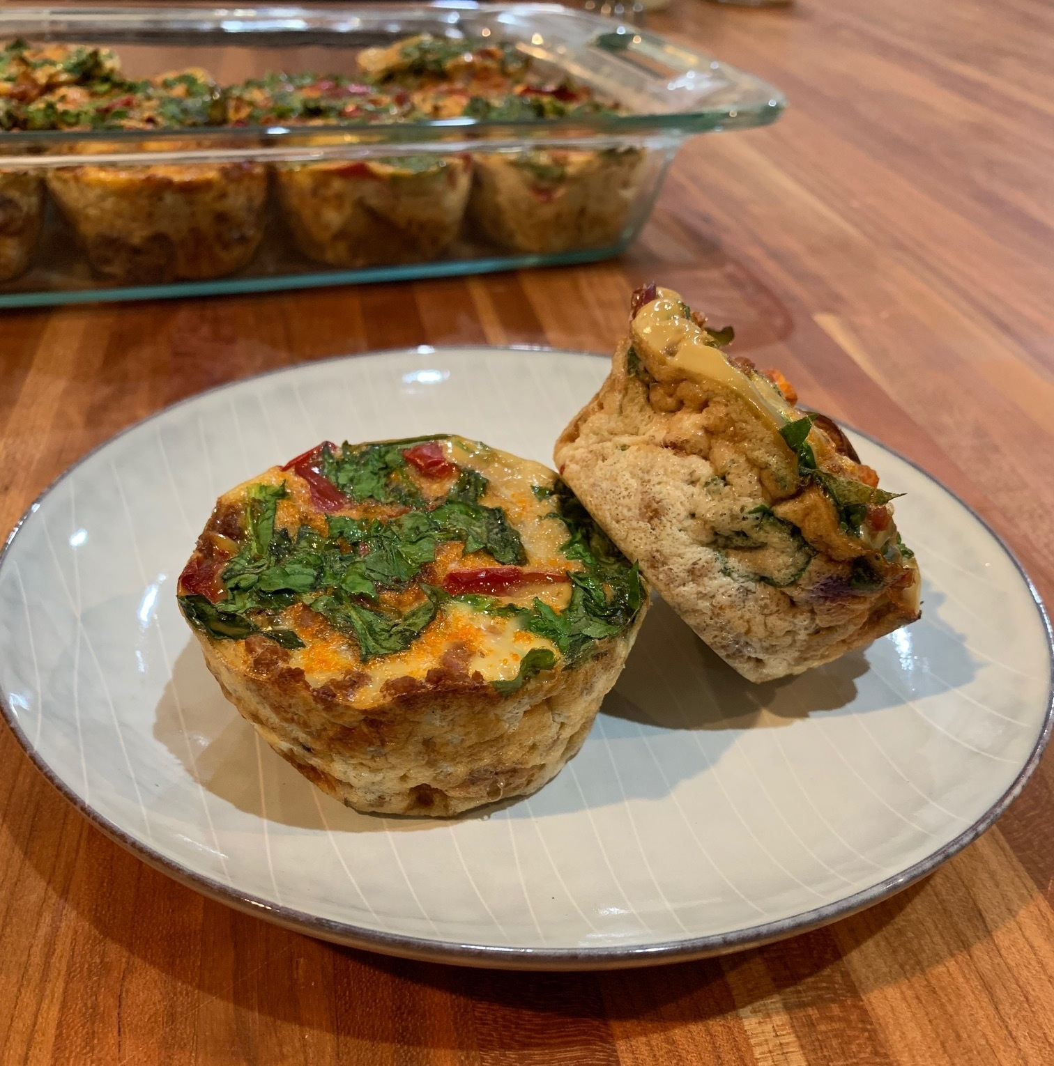 meal prep macro friendly breakfast high protein muffin
