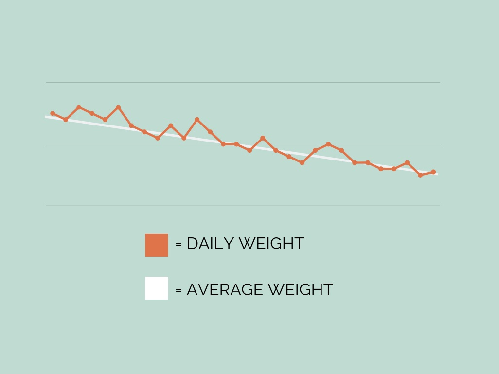 weight loss fat loss nutrition goals weigh in