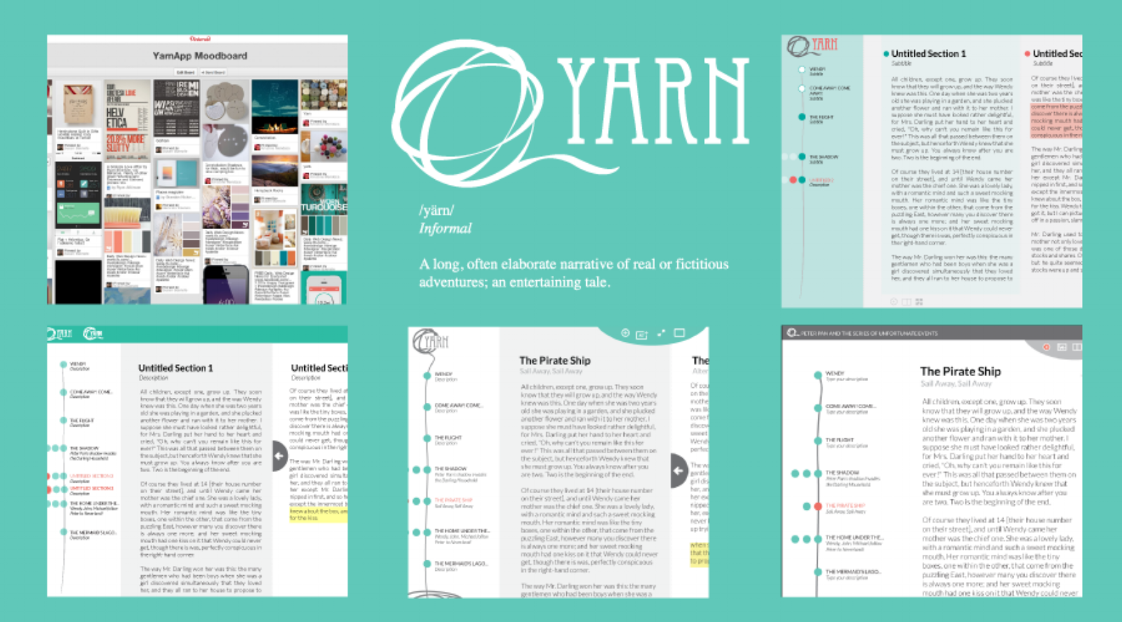 evolution of yarn's UI