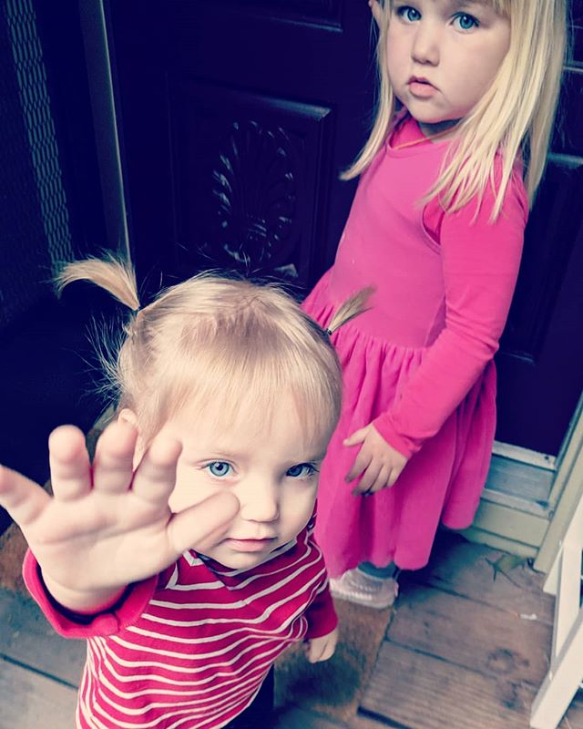 Moody toddlers. Like, WTF?! I thought we had a few more years of goofy kiddos but the attitudes are R.E.A.L. my goodness. Don't know where they get that sass from....🤗