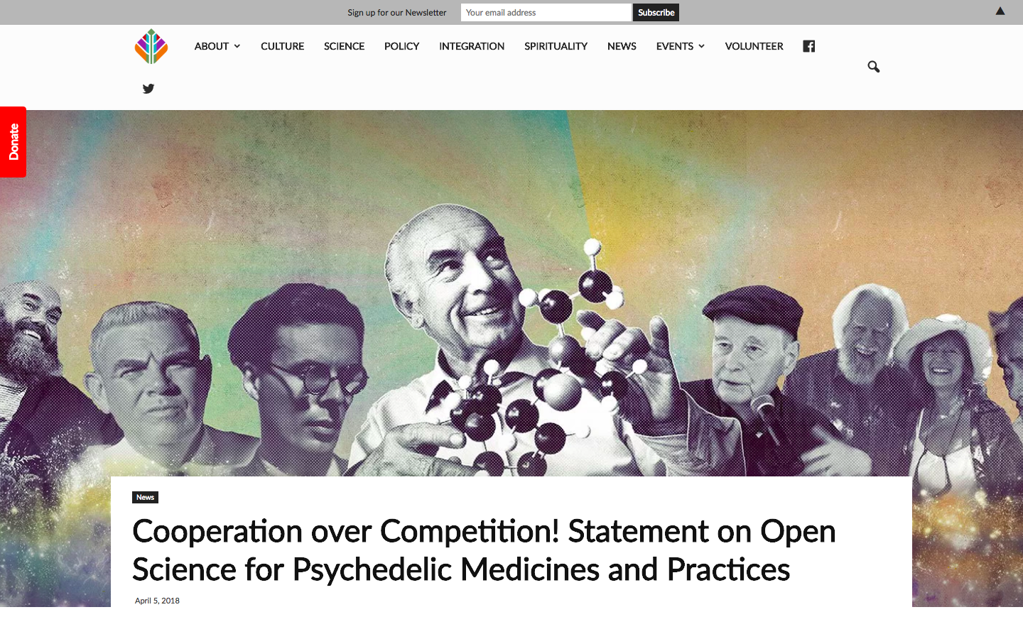 Chacruna |  Cooperation over Competition! Statement on Open Science for Psychedelic Medicines and Practices