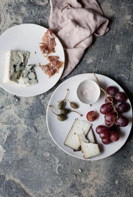 pretty cheese plate