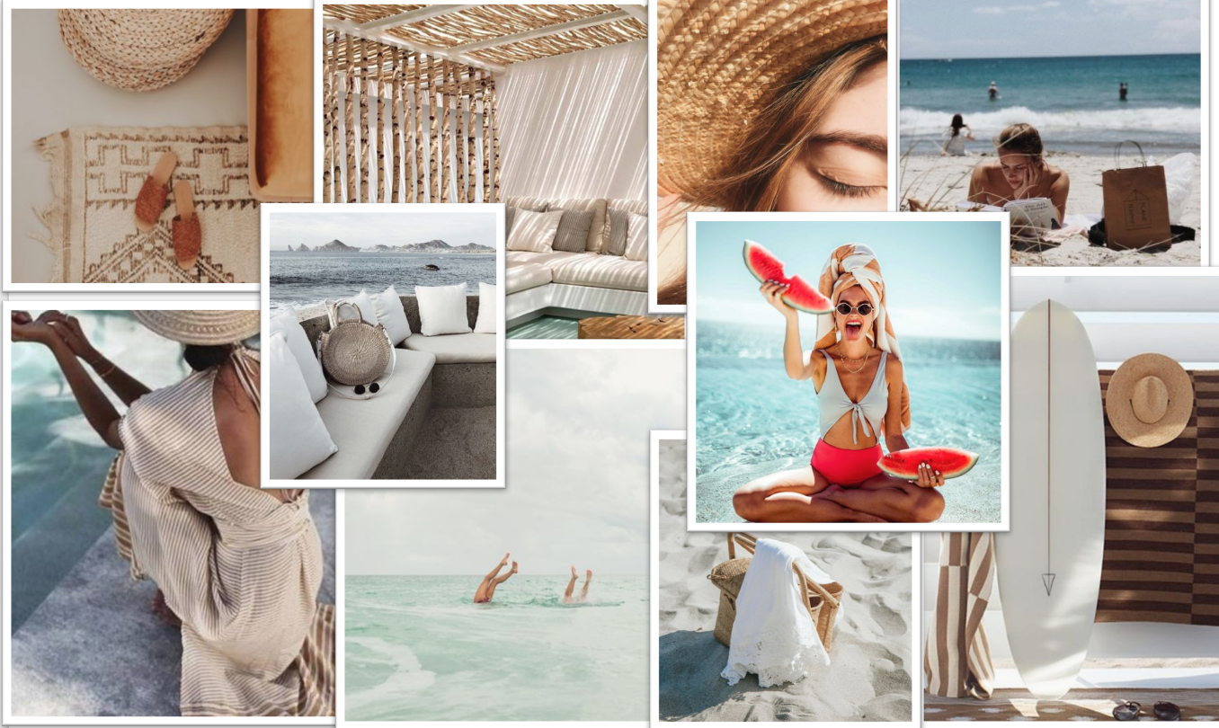 Modhemian Summer Mood Board