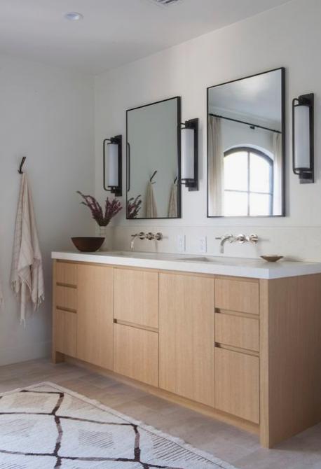 boho bathroom rug, DISC Interiors