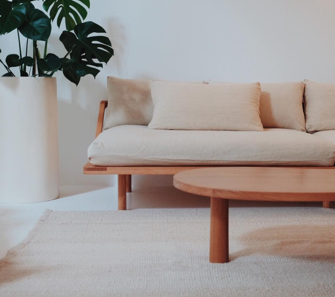 pop and scott, dreamer sofa, minimal organic interiors