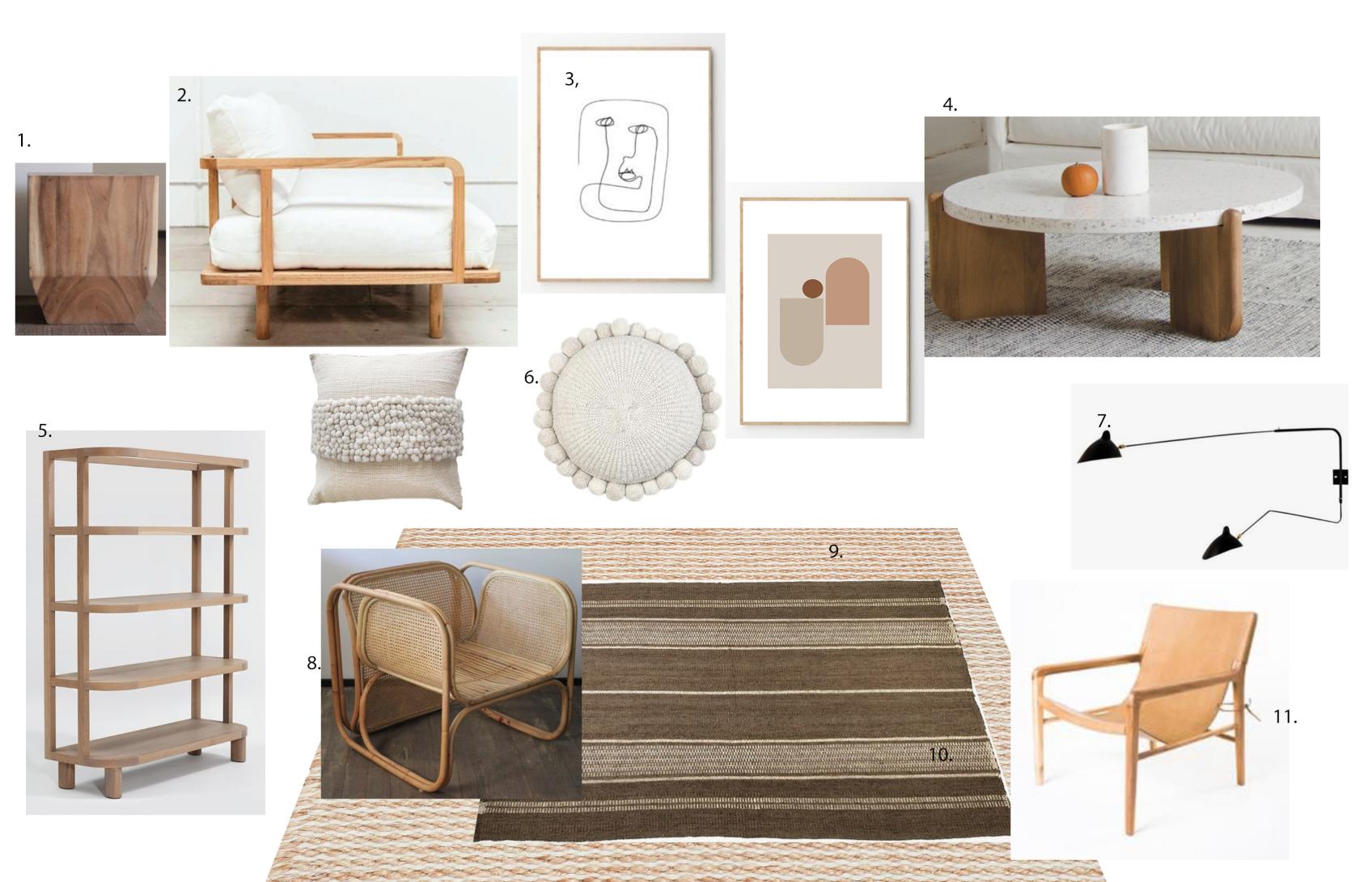 minimal organic interiors, the modhemian