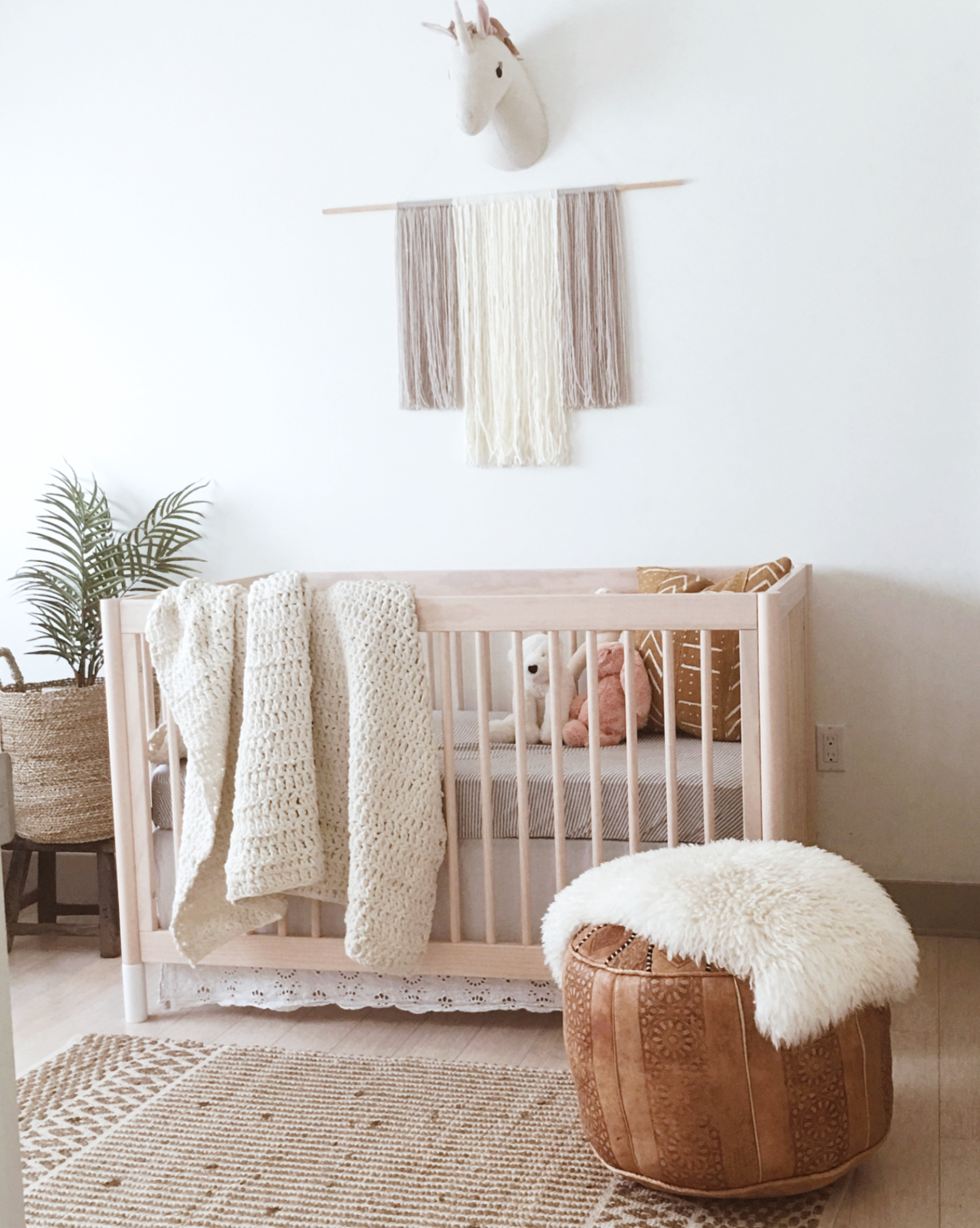 the modhemian neutral nursery, Poppys nursery