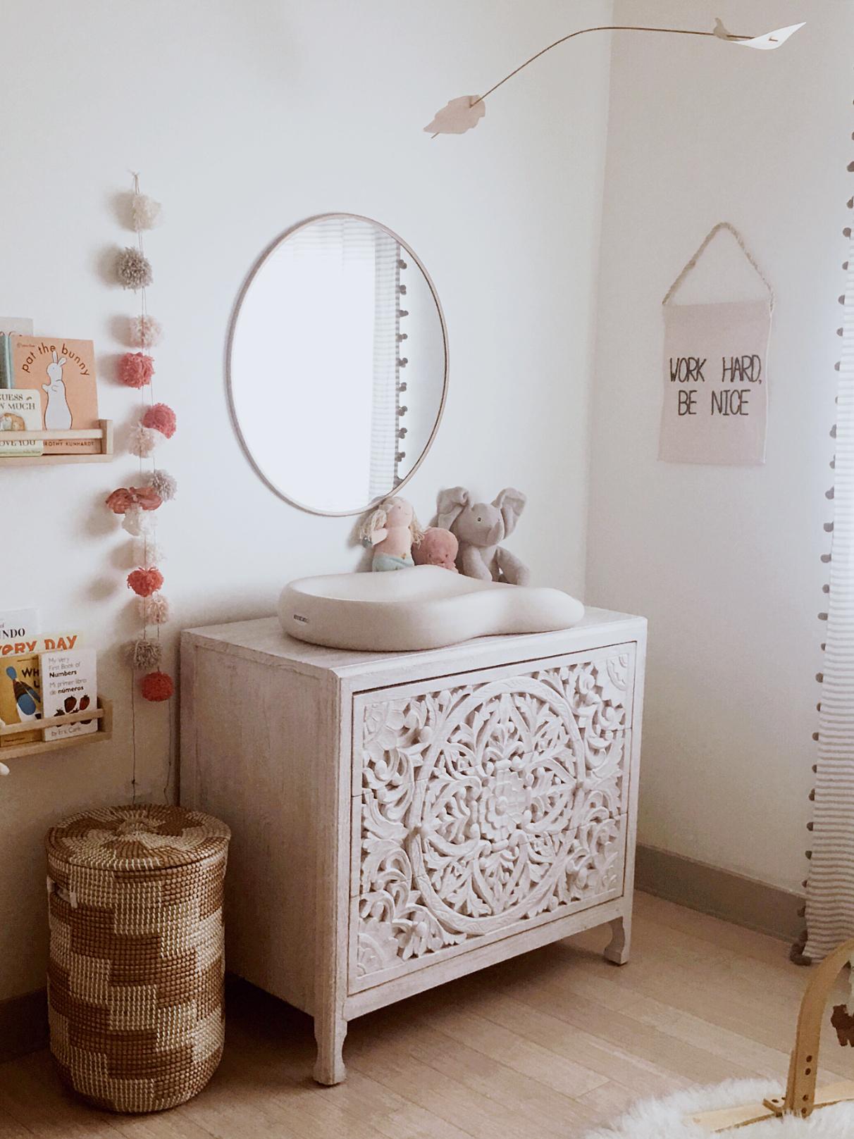 the modhemian neutral nursery, Poppys nursery