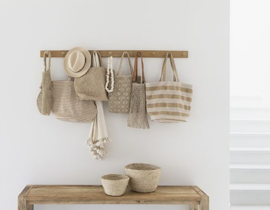 Neutral Bohemian Styling, warm organic minimalism