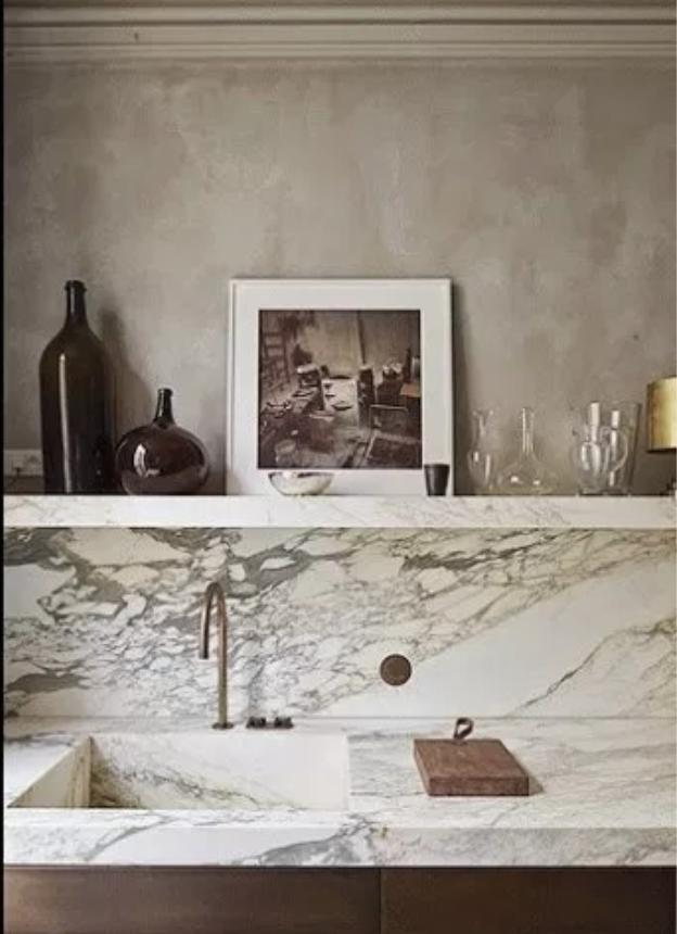 bold marble trend, marble kitchen backsplash