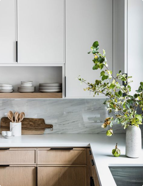 modern kitchen design, minimal kitchen decor