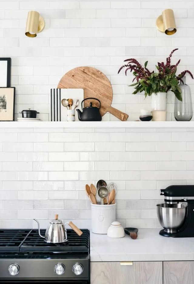 modern kitchen decor, kitchen styling