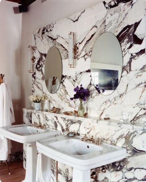 modern marble trends, modern bathroom trends