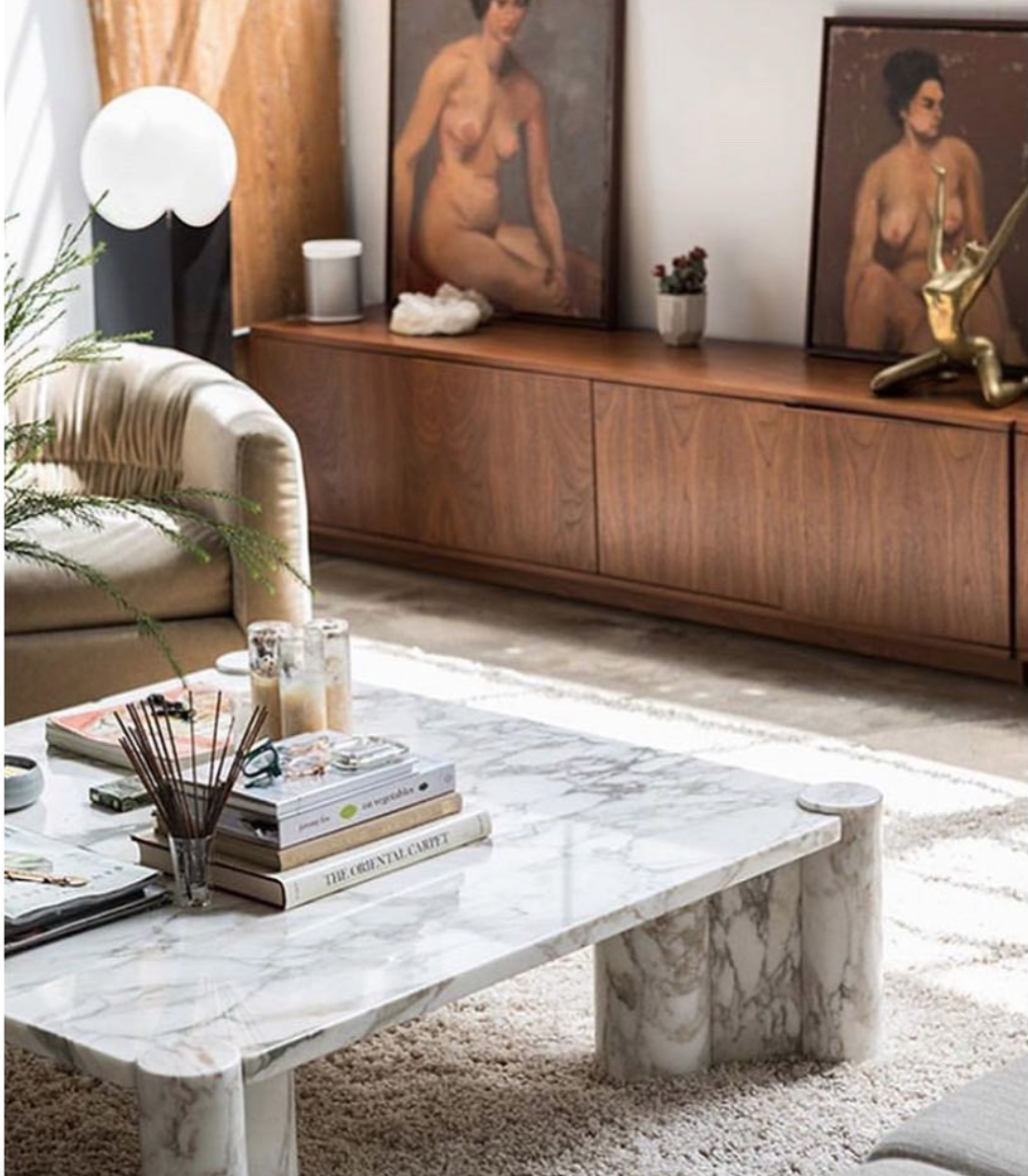marble coffee table, modern marble trends