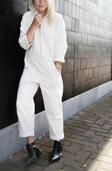 boiler suit jumpsuit, modern streetwear trends summer 2019