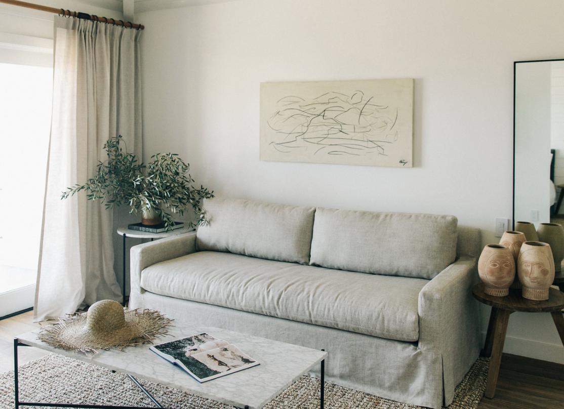 get the look: surfrider malibu, coastal modern interiors, neutral organic interiors
