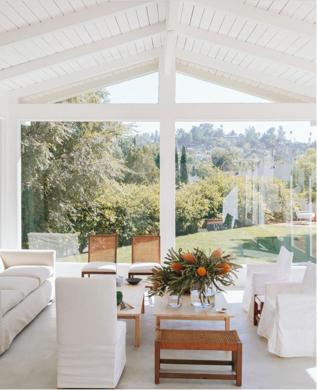 white beam open ceilings, rustic modern bohemian interiors, beach house design