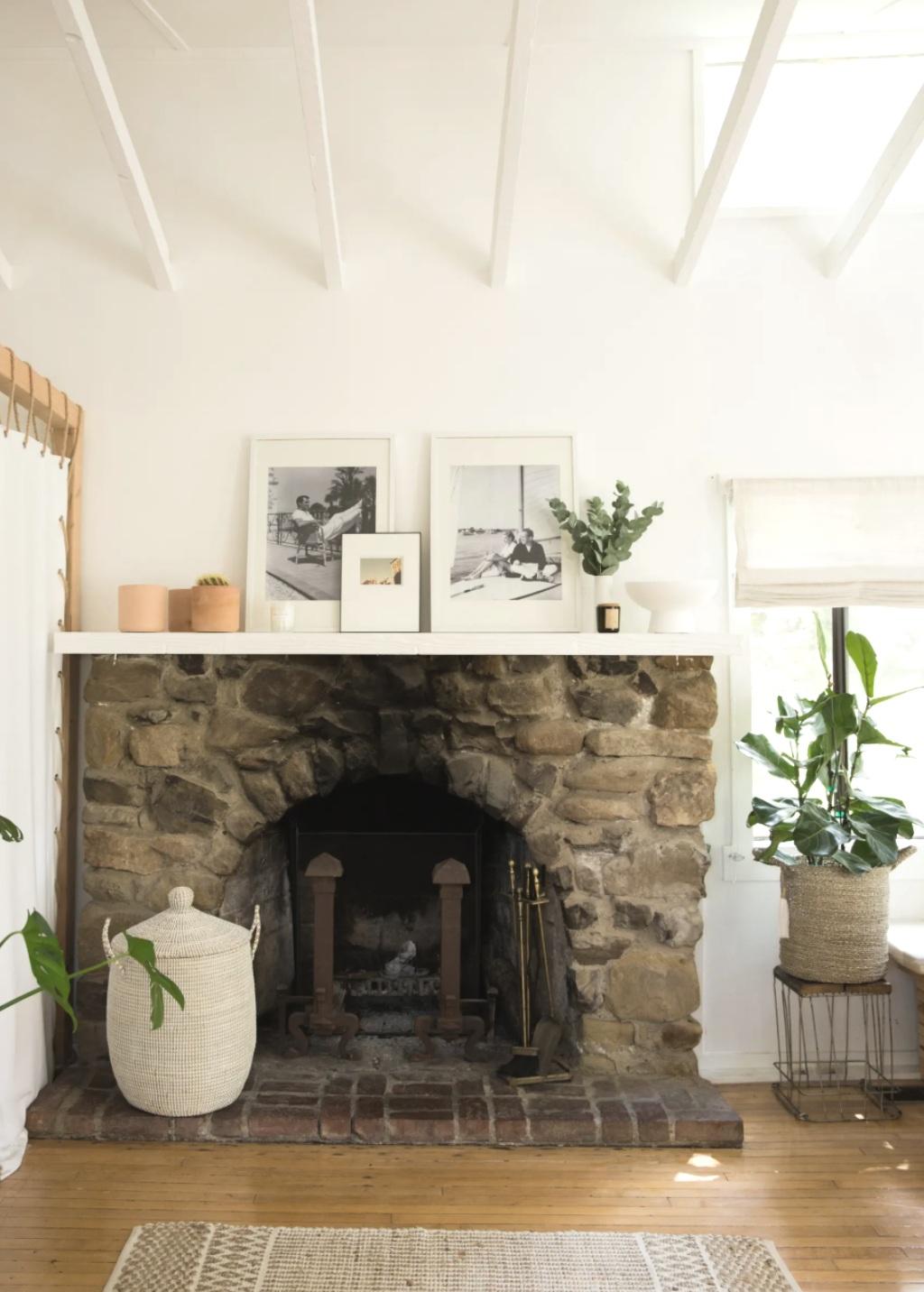 white beam open ceilings, rustic modern bohemian interiors, beach house design, topanga homes
