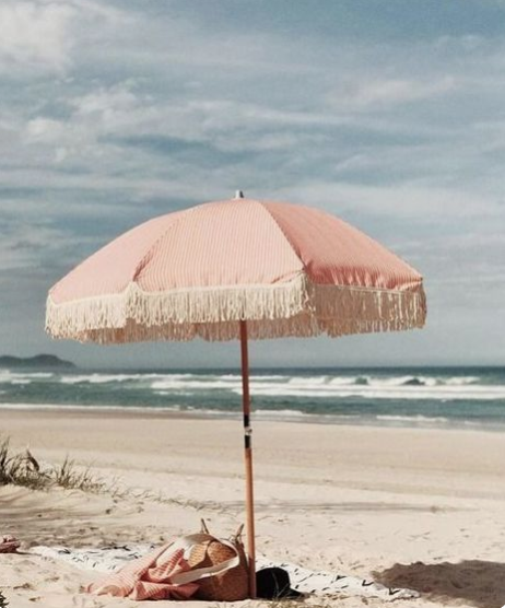 pink summer, pink color story, pink umbrella