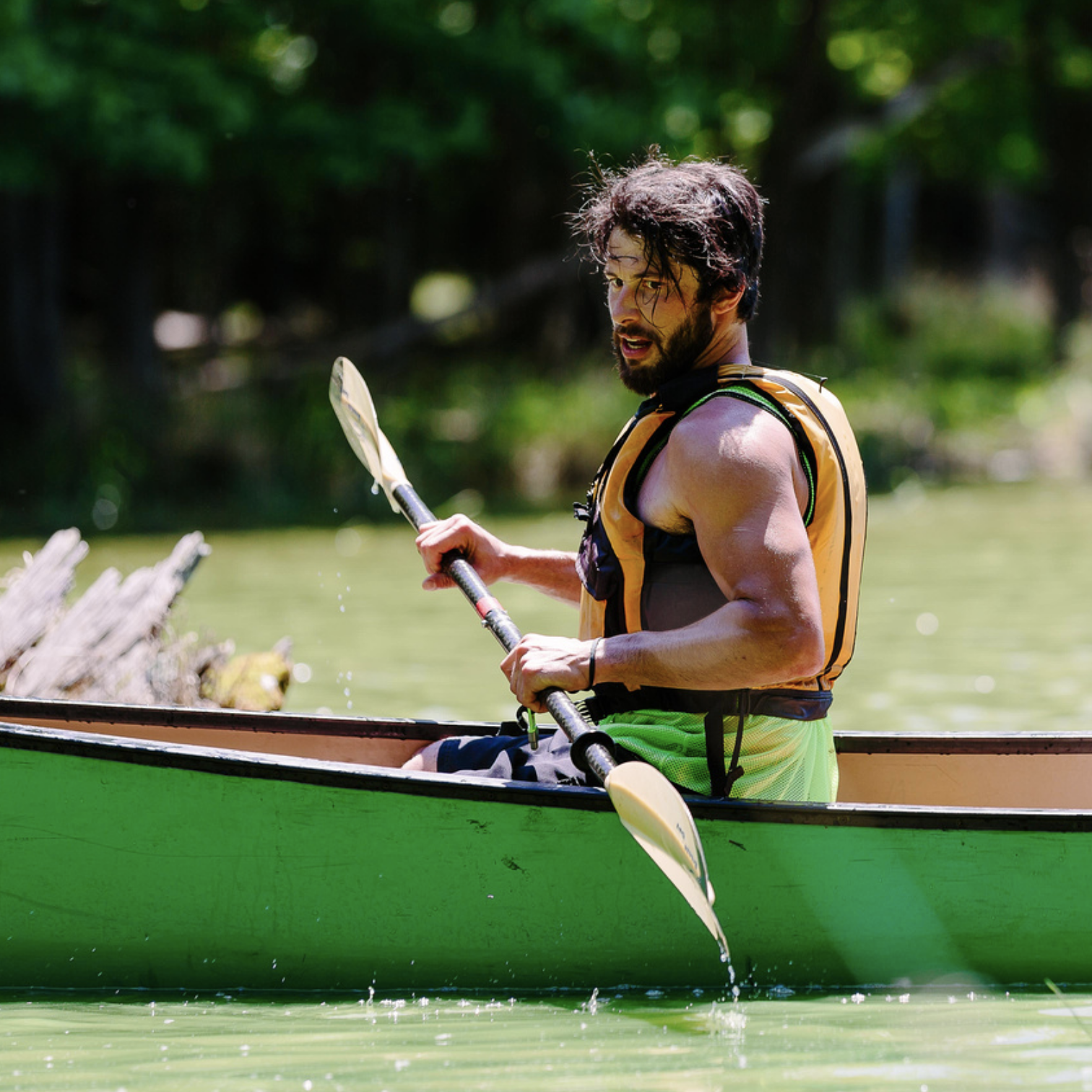 river canoeing -