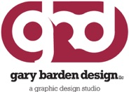 Gary Barden Design: A Graphic Design Studio Logo