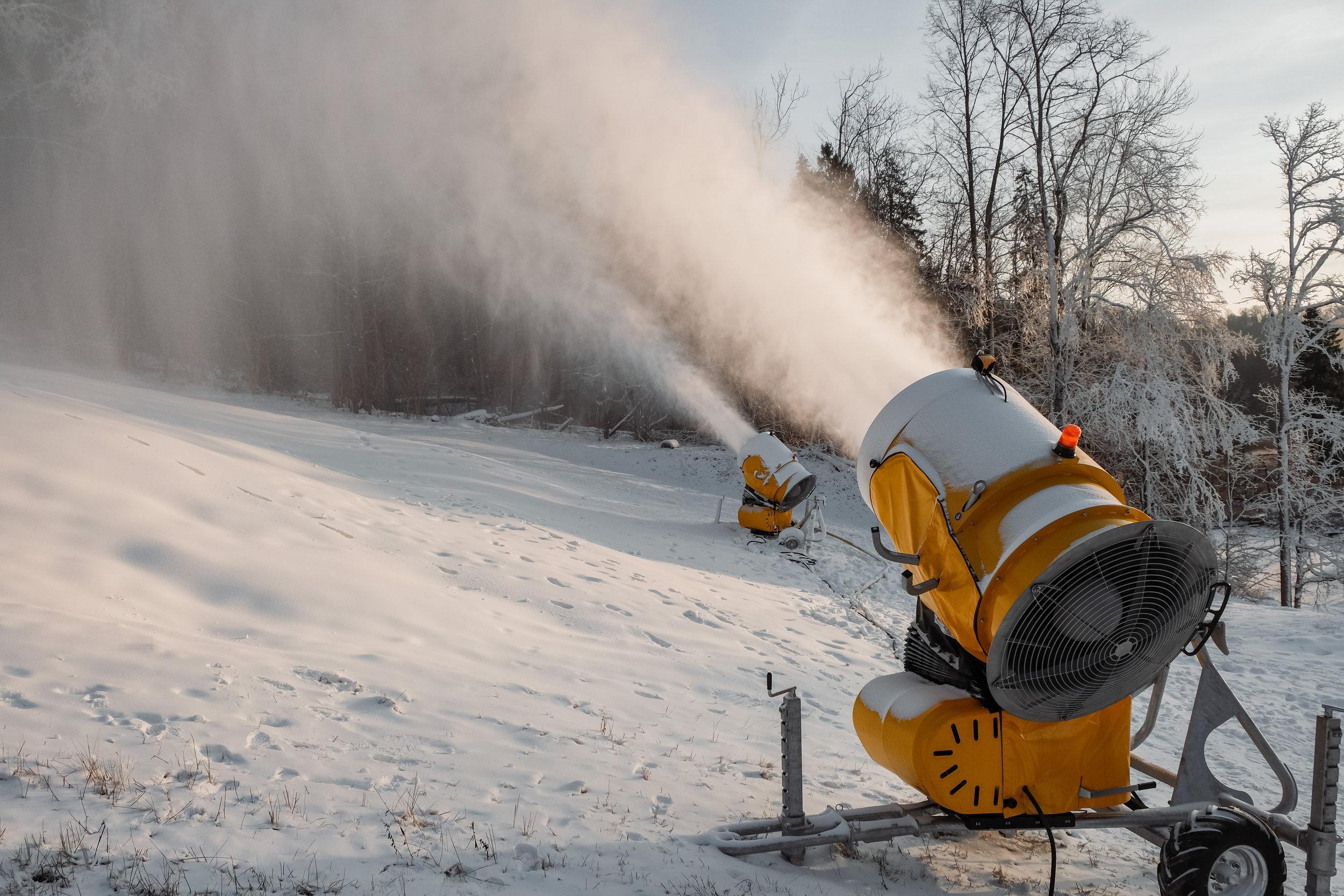 Cross Country Snow Making Equipment