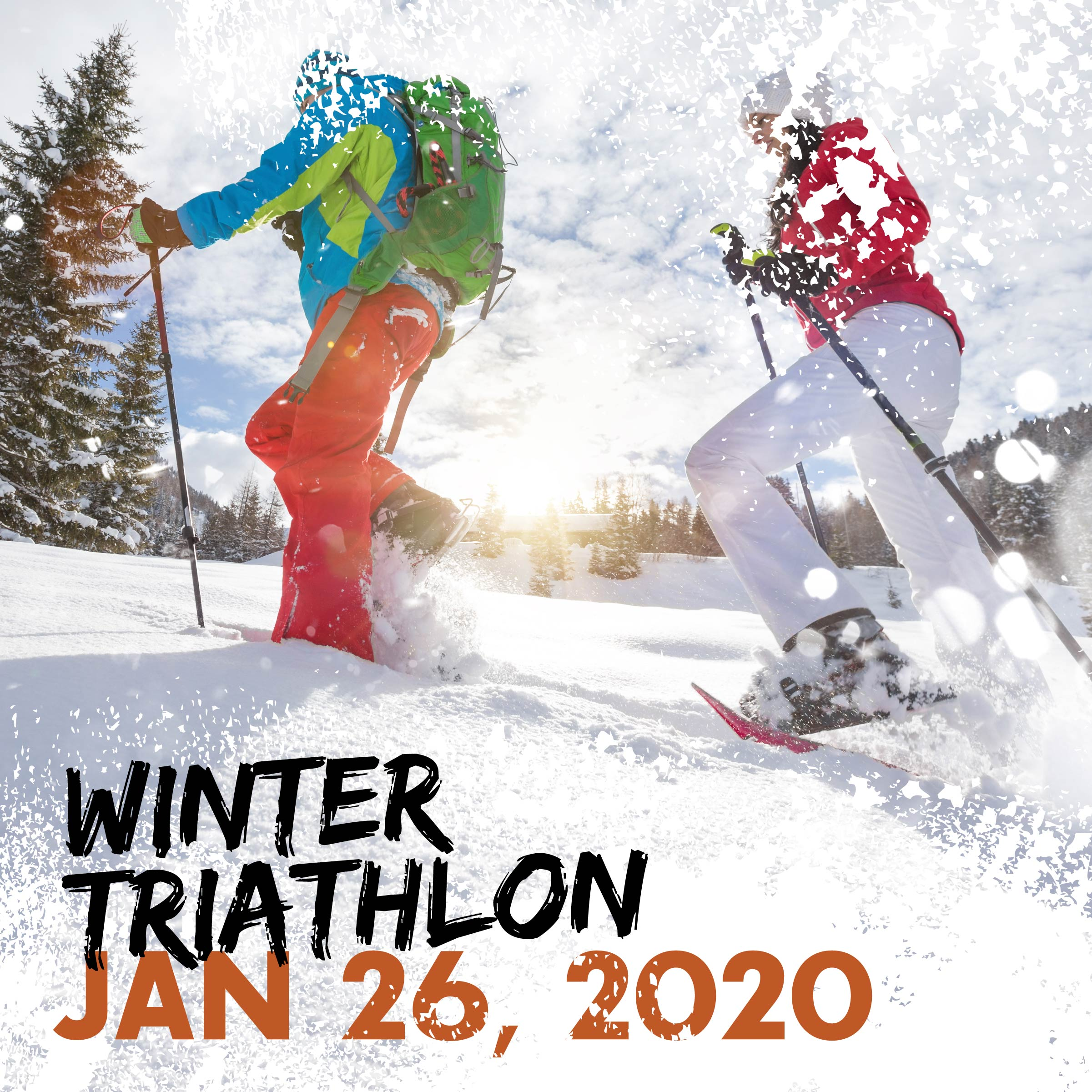 Winter Triathlon: January 25, 2020