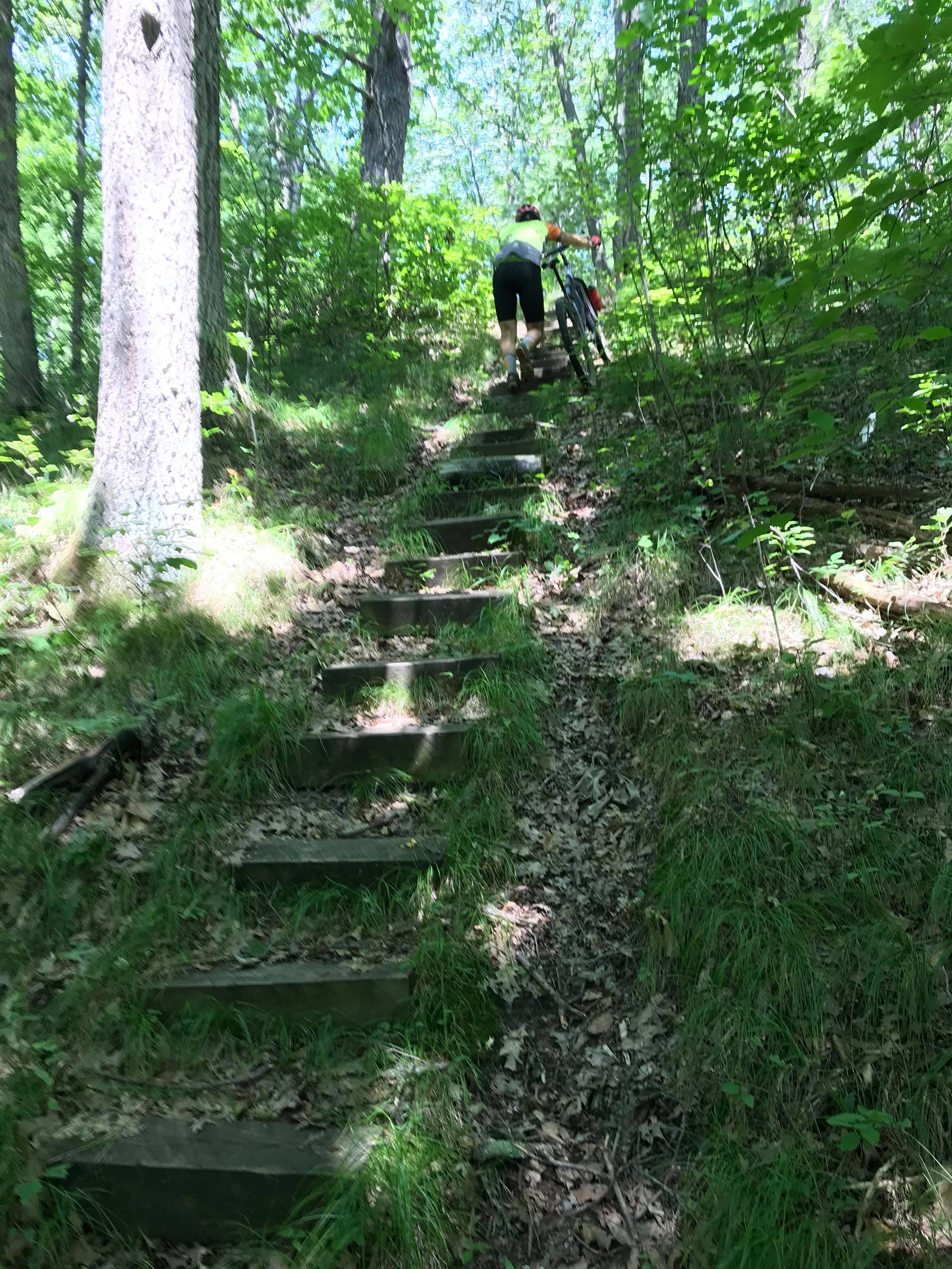 Get ready for this hike-a-bike!