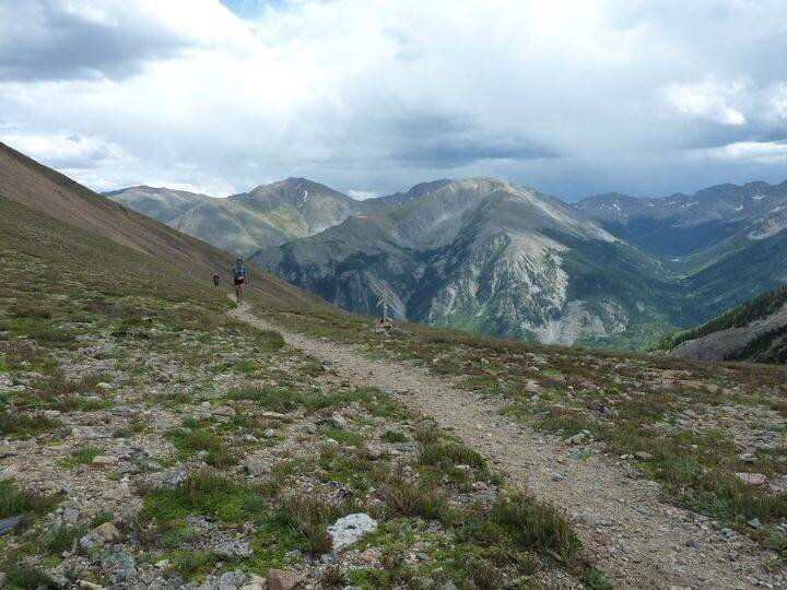Although I wasn't able to preview all 100 miles of the  Leadville 100  course prior to racing, I selected the hardest portion to preview so I knew what to expect.