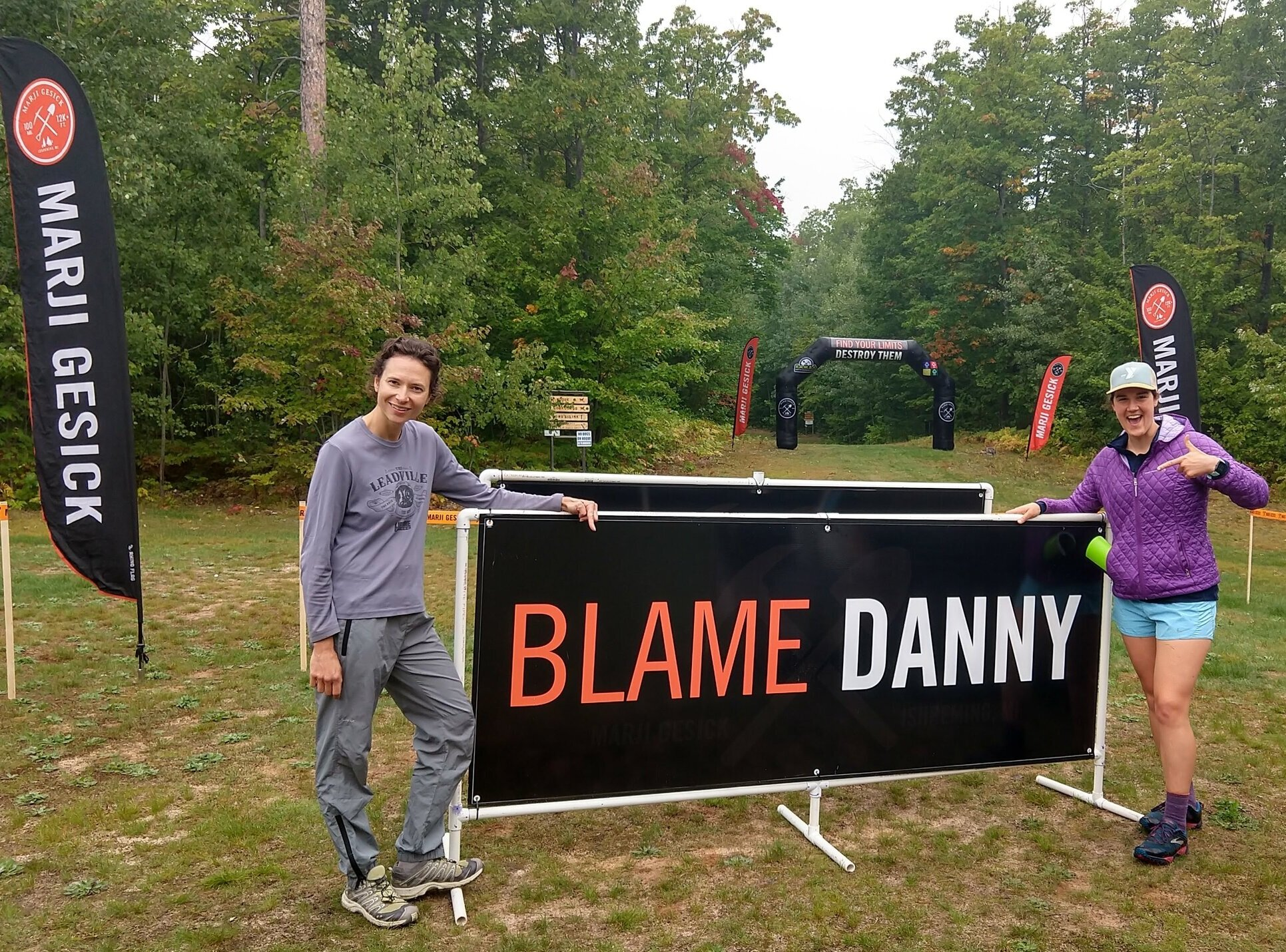 Course designer Danny Hill purposefully challenges racers