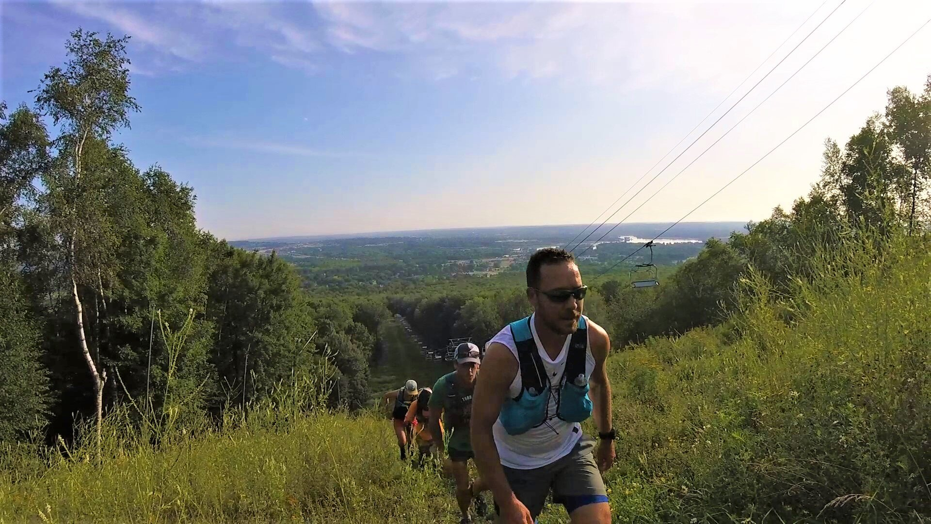 Both 15k and 50k racers will be rewarded with beautiful views of Wausau at peak fall colors.