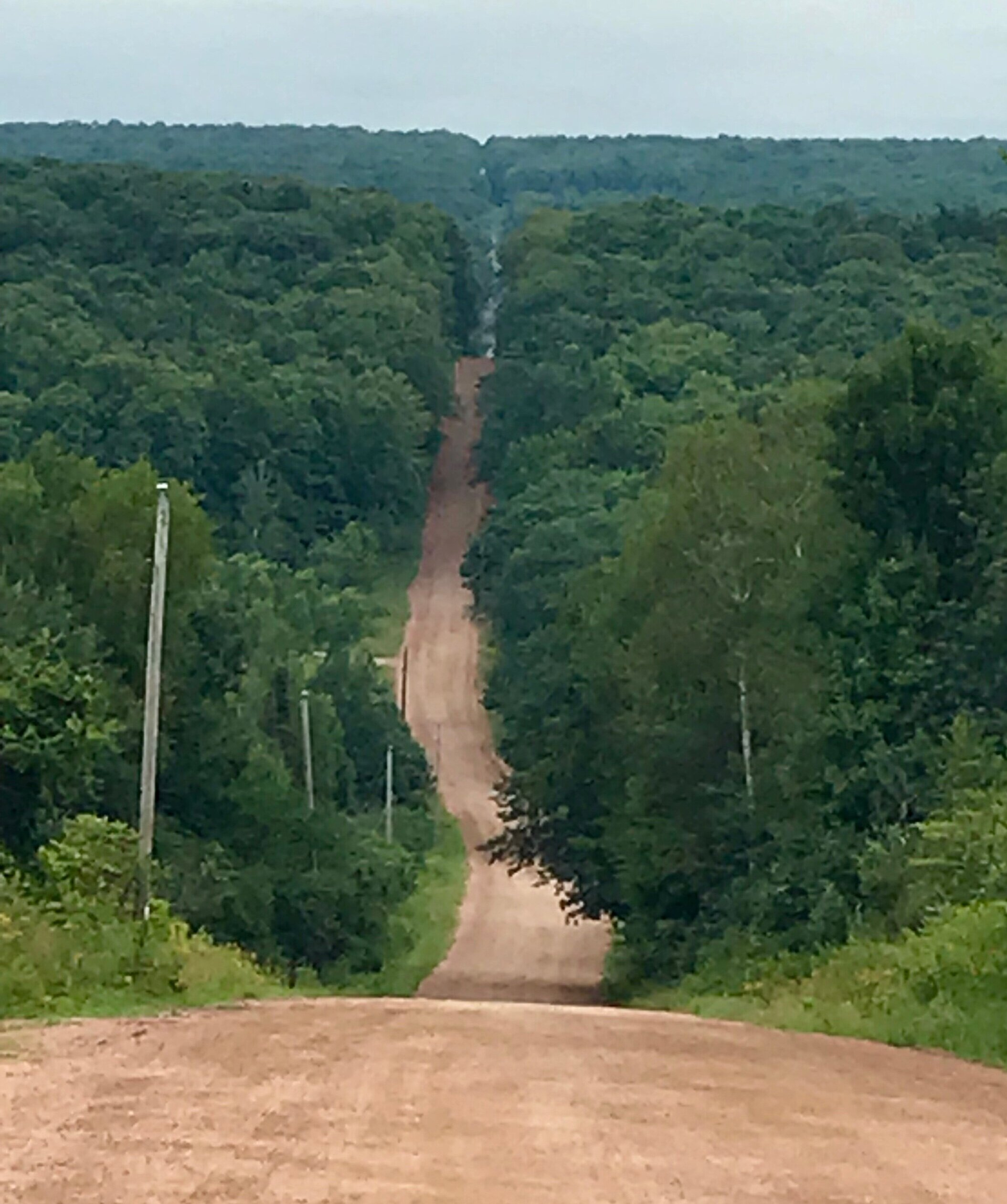 Gravel racers will experience several hills throughout the course, including Brokaw's Billy Goat Hill.