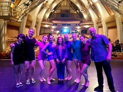 Ocean Trilogy  at Sunset Cultural Center, with SpectorDance Company and Baba Brinkman!