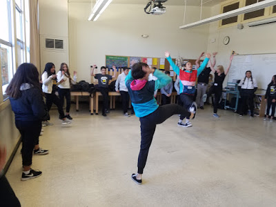 Classroom Connections  Arts Education Program   In addition to performing at Sunset Center, we brought dance into the classrooms of Monterey County elementary and middle schools!