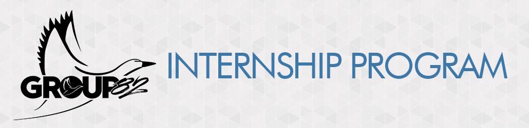 Group 82 Internship Program Header Banner