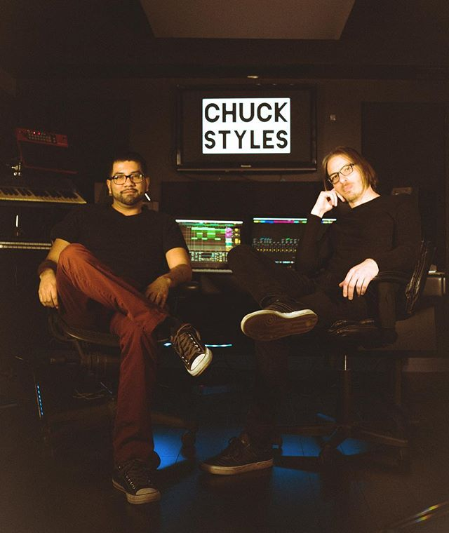 Chuck Styles. they'll be playing an Ableton set LIVE this Saturday 02/23. highly respect these two. sound is vibey af 🔥 rsvp link in my bio.