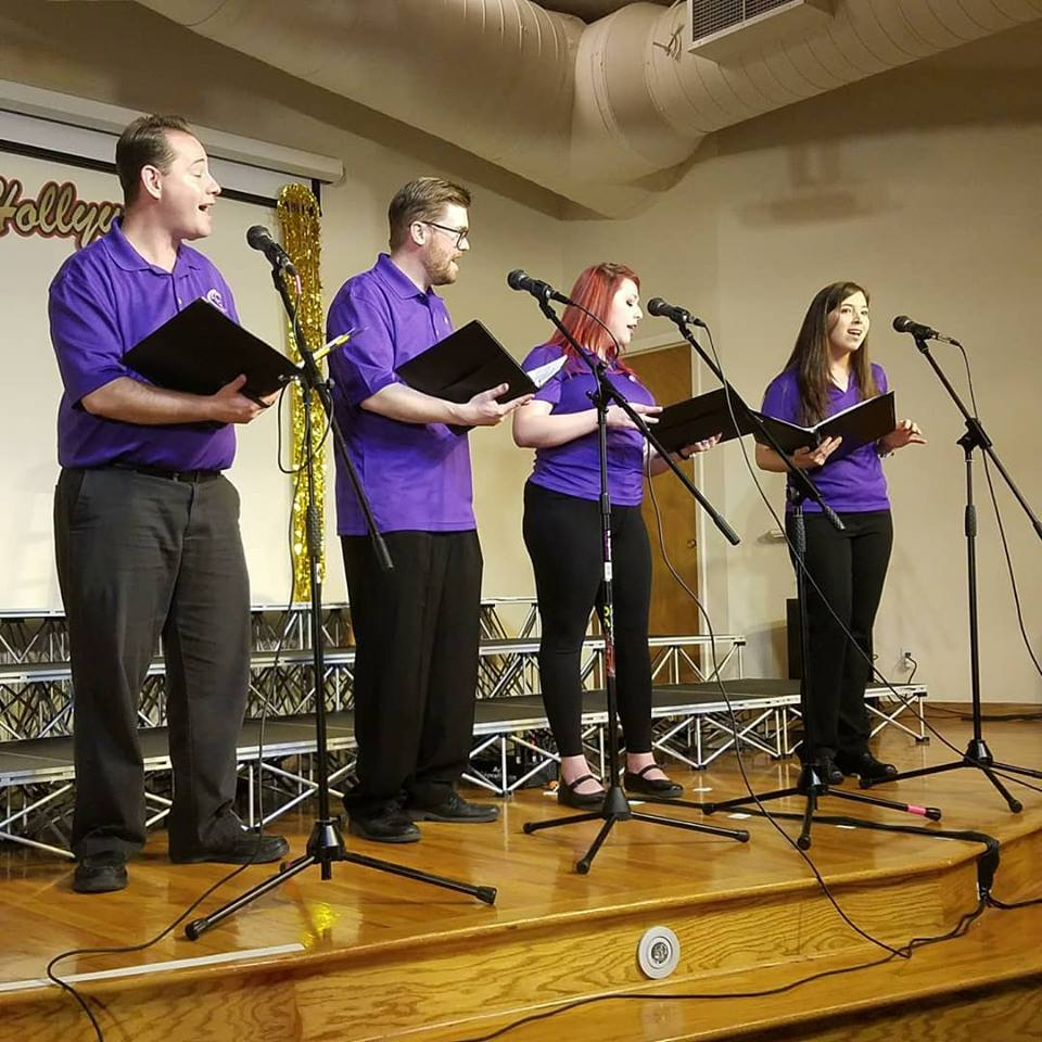 """""""Old Devil Moon"""" performed by Kawika, Gary, Rachel and Britney at our 2018 Spring Concert"""