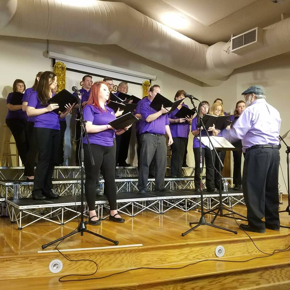 Our choir, led by our Director Emeritus. Spring Concert 2018.