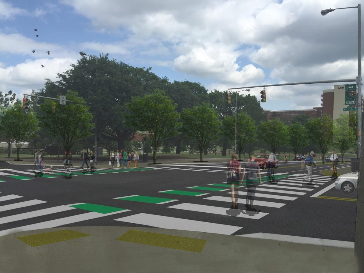 Complete Street Project: 10th Ave & 14th St S Image Credit: Brad Davis, Alta Planning + Design