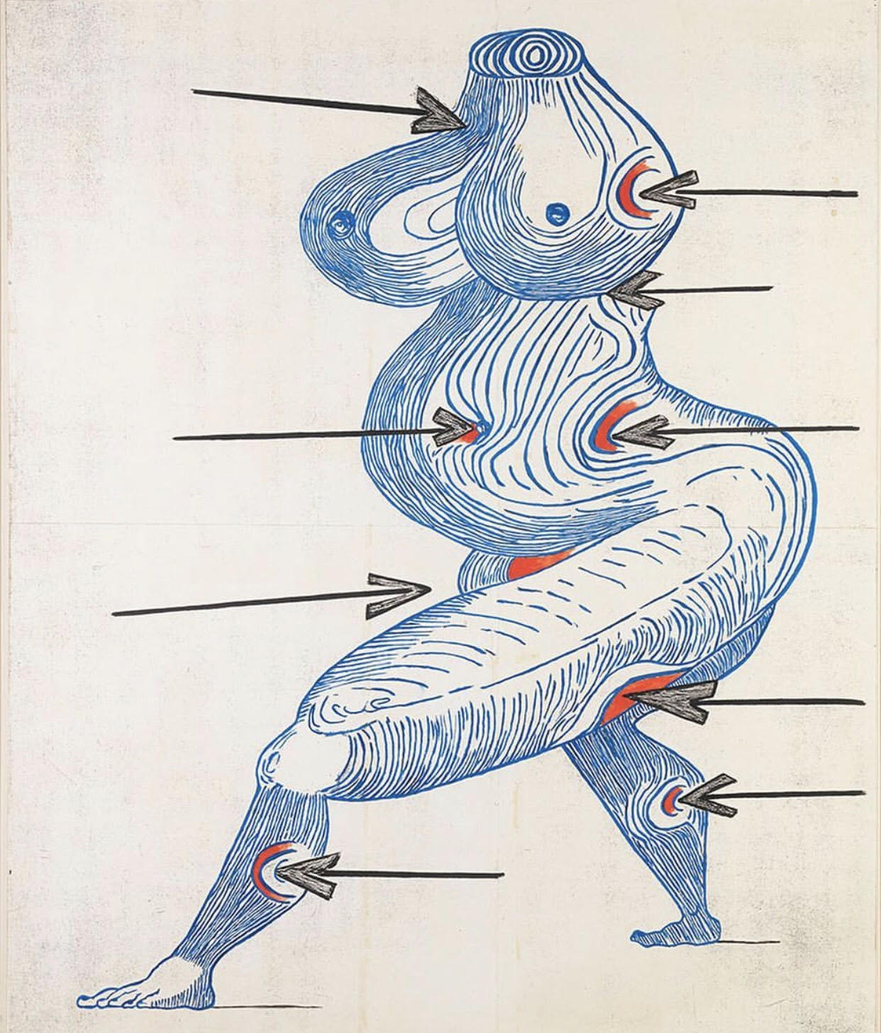 Ste. Sébastienne by Louise Bourgeois
