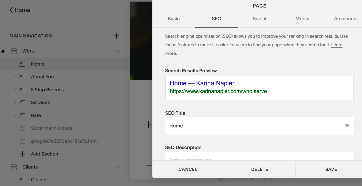 karina-napier-creative-squarespace-seo-help-screenshot-how-to