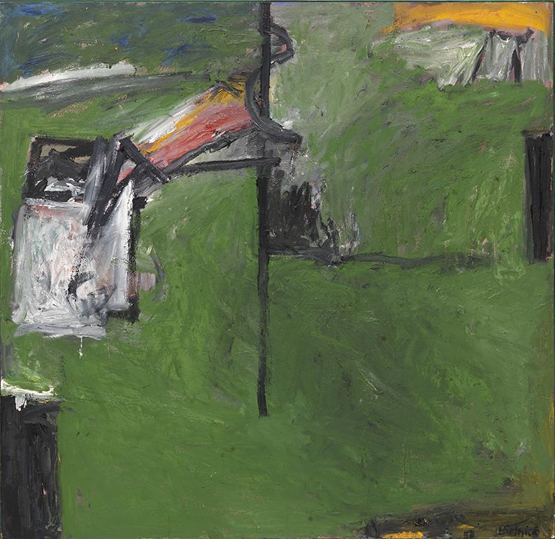 Milton Resnick  Sweet Potato , 1958 Oil on canvas 68 x 70 inches