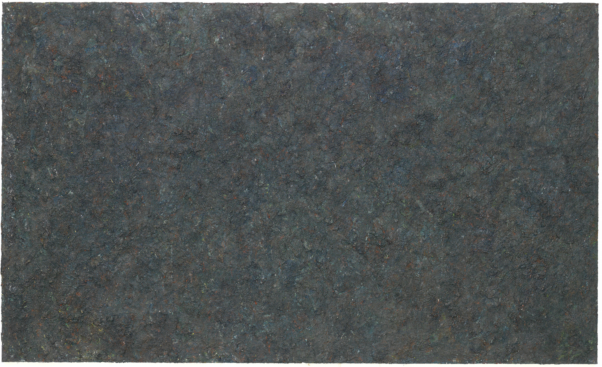 Milton Resnick  Veil of Isis , 1985 Oil on canvas 75 x 124 inches