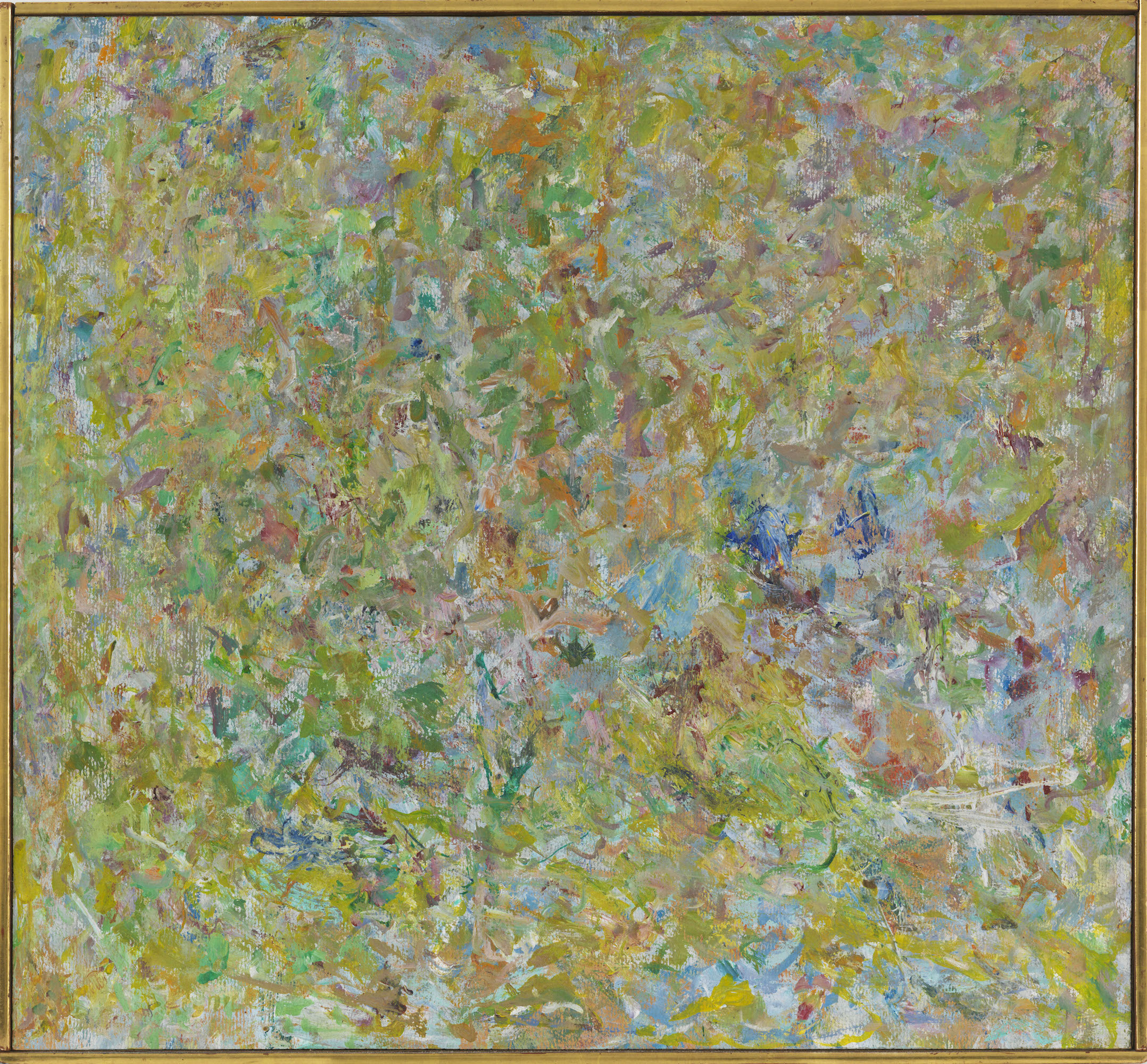 Milton Resnick  Untitled , 1962 Oil on canvas 20 x 21.5 inches