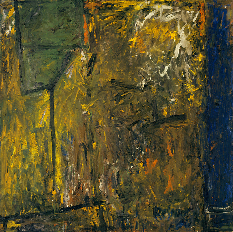 Milton Resnick  Runaway , 1958 Oil on canvas 59 x 59 inches