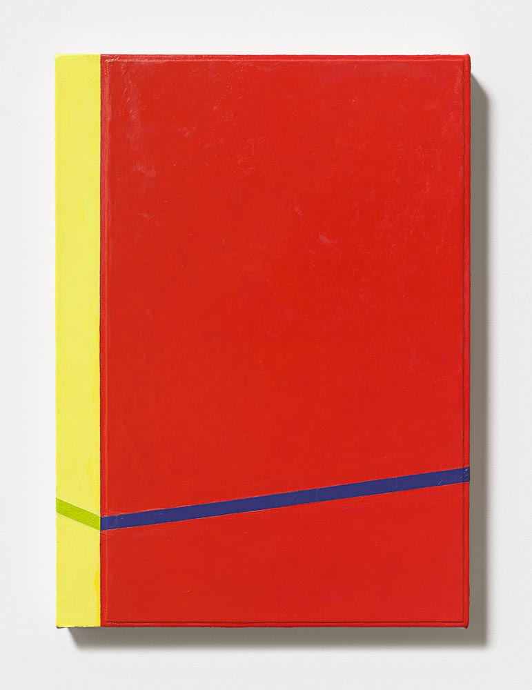 Andrew Spence  Untitled 3 , 2015 Oil on canvas 22 x 16 inches