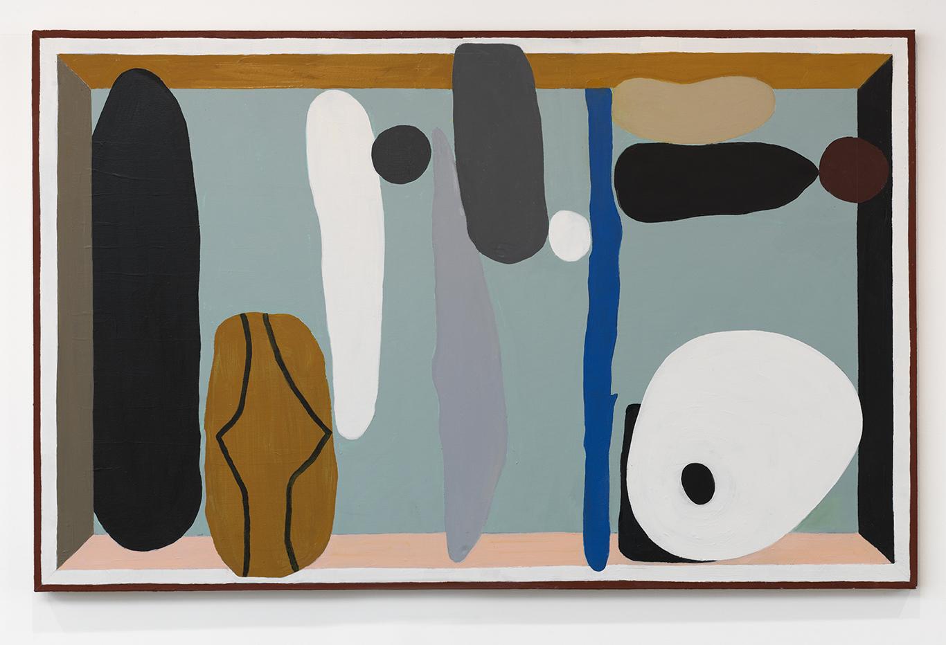 John Obuck  Landscape , 2018 Oil on canvas 38 x 60 inches