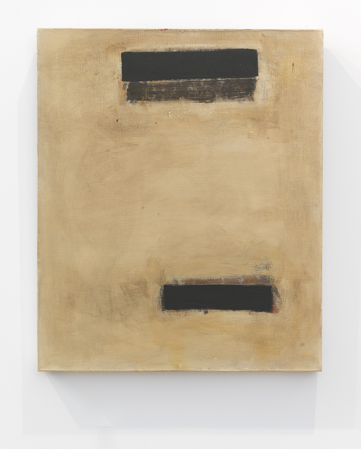 Denzil Hurley  Redact-2 , 2003-2005 Oil on canvas 24 x 20 inches