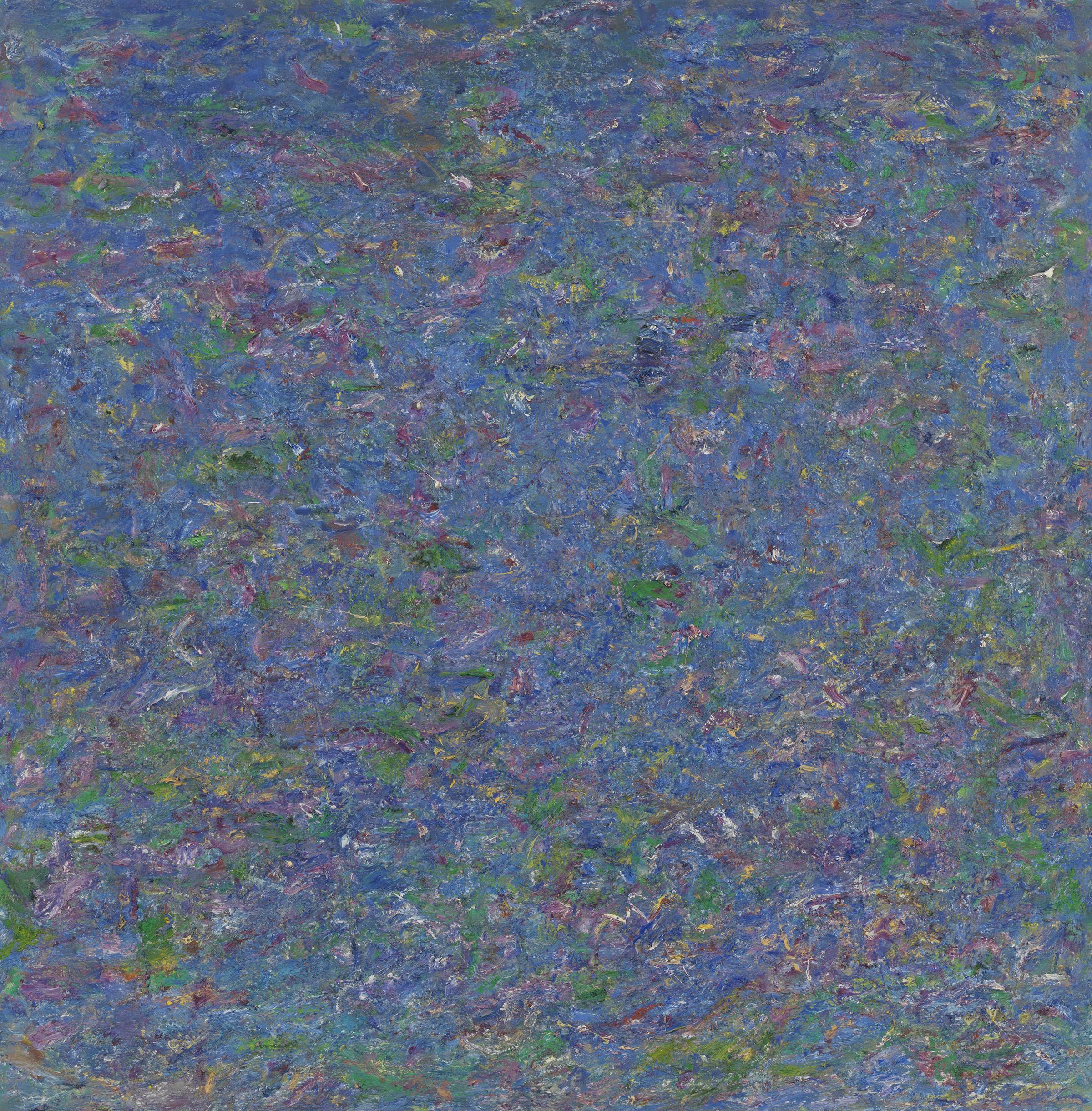 Pat Passlof  Isoceles , 1980 Oil on linen 78 x 79 inches
