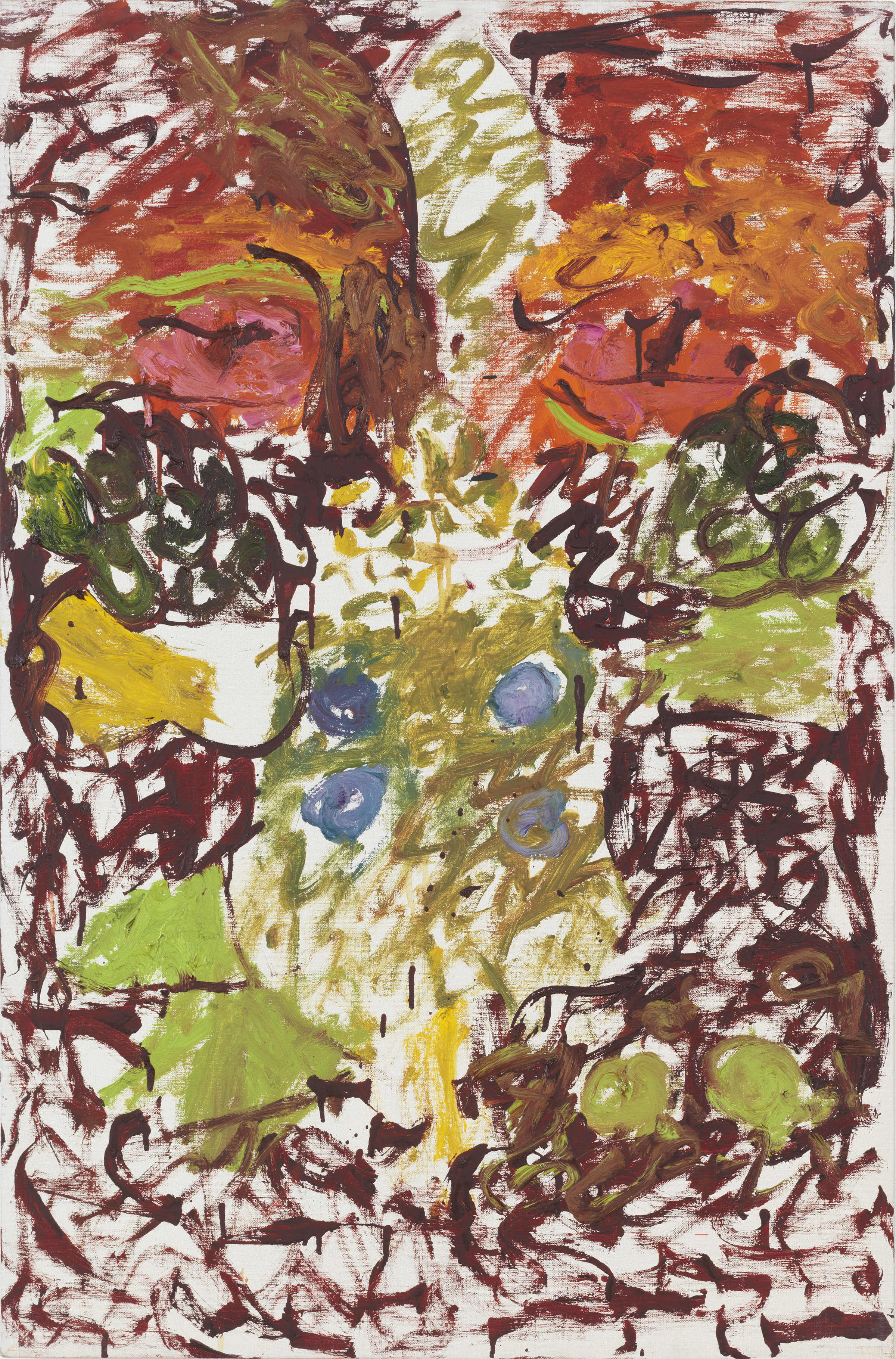 Pat Passlof  Untitled , 1965 Oil on linen 26 x 24 inches